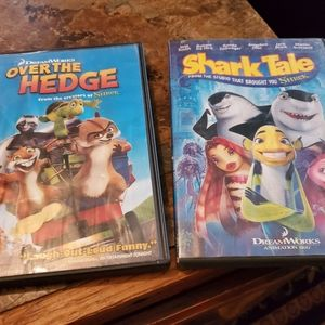Shark's Tale and Over the Hedge movies